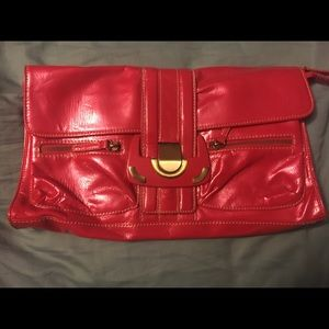 Large Chinese Laundry clutch
